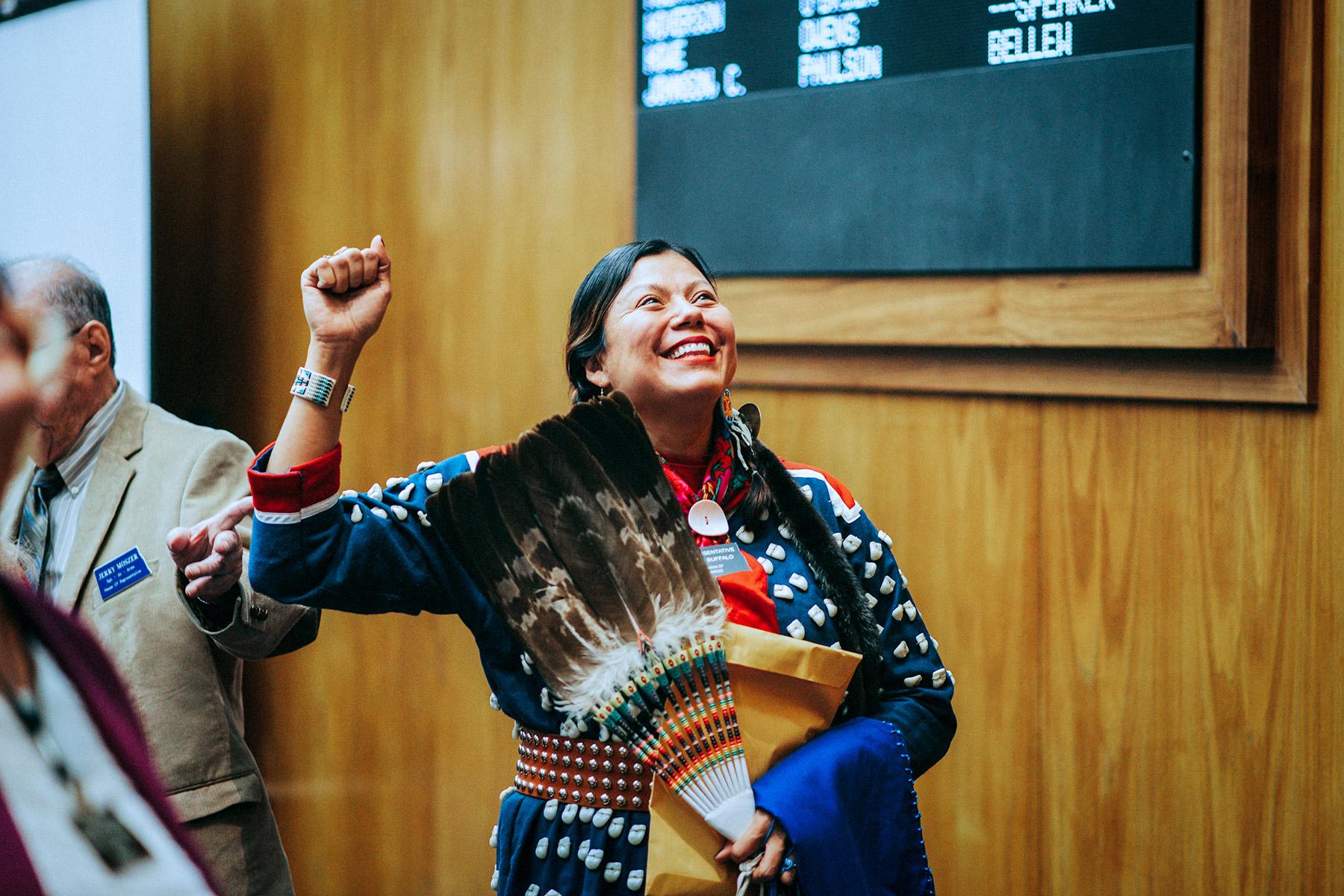 Native Americans Take Power