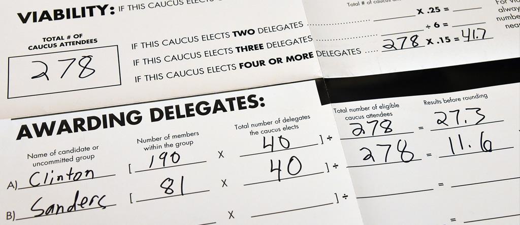 The Secret History Of Superdelegates - Delegates and superdelegates