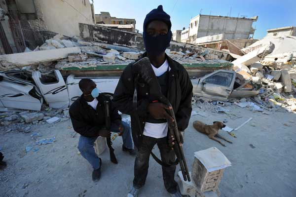 Haiti private security personnel