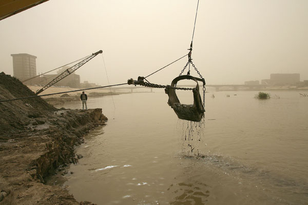 Tigris river cleaning