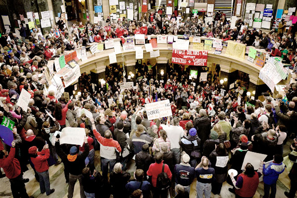 Protest Wisconsin