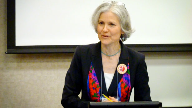 Jill Stein Green Party presidential candidate