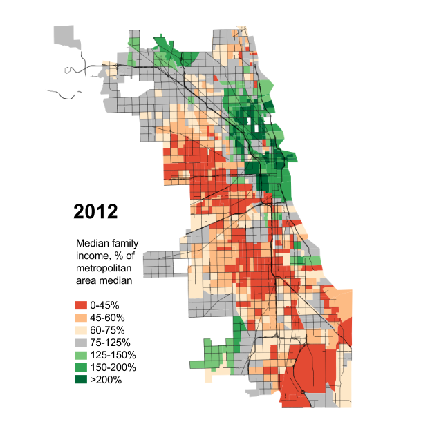Chicago crime map 2015