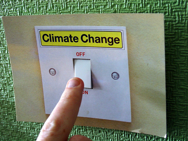 Is global warming spelled with capitals?