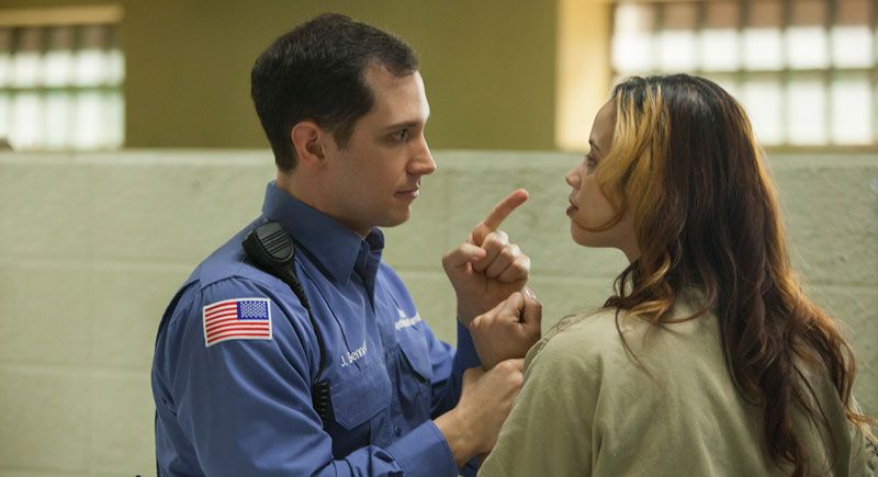 Orange Is The New Black Daya And Bennett Kiss