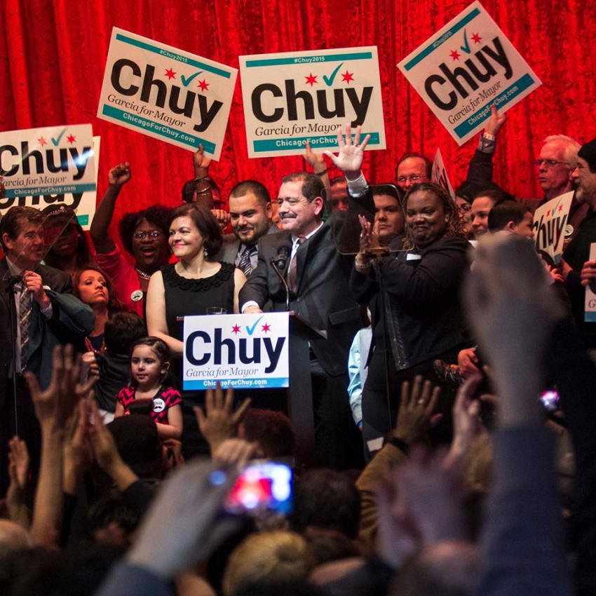 With Chicago Tired Of Mayor 1 Chuy Garca Could Actually Win His