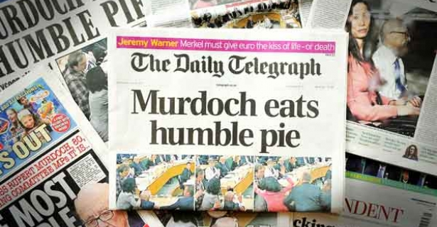 Murdoch Eats Humble Pie