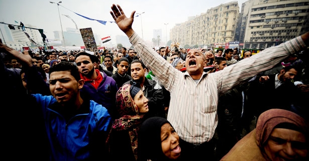 Egyptians demonstrate