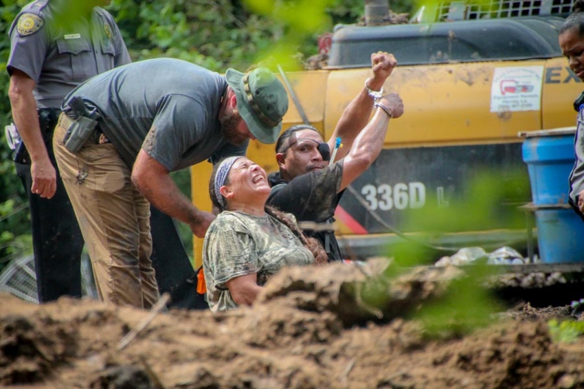 Fossil Fuel Companies Are Enlisting Police to Crack Down on Protesters