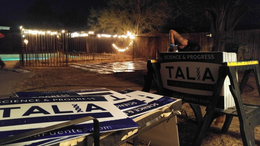 Raising Hell In Arizona Talia Fuentes Has A Plan To Revolutionize - Fuentes-exterior