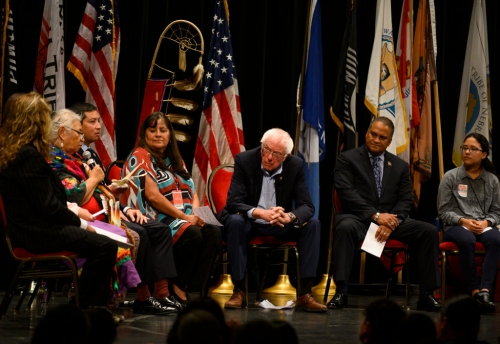 At First-Ever Native American Presidential Forum, Candidates Answer to Centuries of Injustice