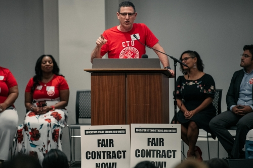 The coming Chicago teachers strike could be felt across the country
