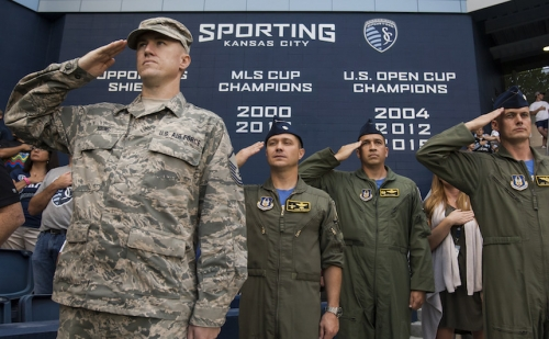 How Pro Sports Became Part of the U.S. Military?s War Machine