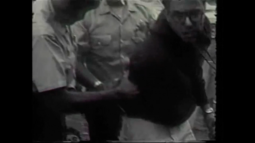 this video appears to show bernie sanders being arrested at a  this video appears to show bernie sanders being arrested at a 1963 civil rights action in chicago in these times