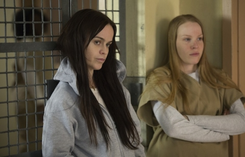 Orange Is the New Black Roundtable, Part 2: On Religion ... White Girl With Cornrows Orange Is The New Black
