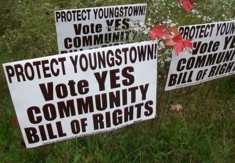 Youngstown Residents Push to Oust Corporations from Election Campaigns, Cap Contributions at $100