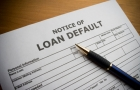 Loan default notice