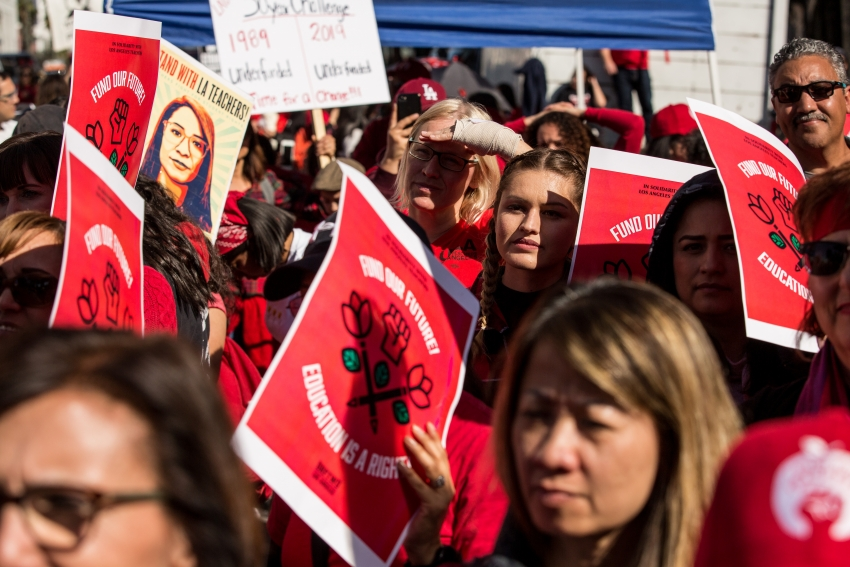 Los Angeles teachers went on strike for our schools