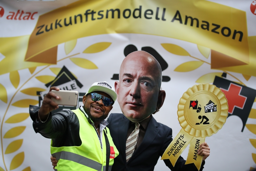 inthesetimes.com: Amazon Labor Activism Goes International as European and U.S. Workers Combine Forces