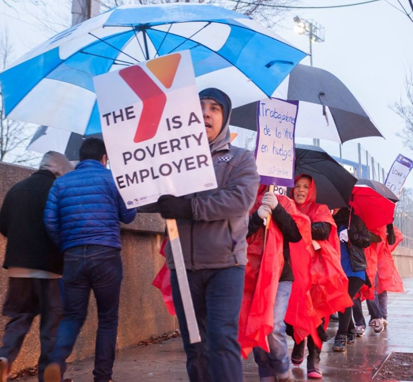 YMCA Childcare Workers Just Went On Strike  Here's Why