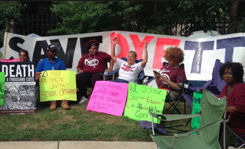Image result for Dyett High School Opens: 2015 Hunger Strike Redefines Meaning of 'School Closure'