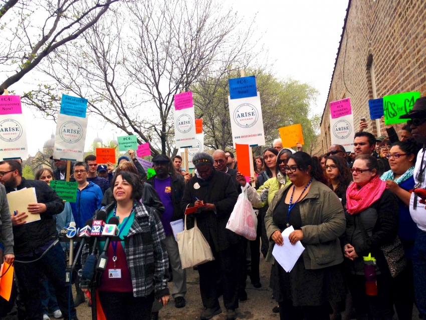 Chicago Therapists And Clients Protest Unexpected Closure Of Major