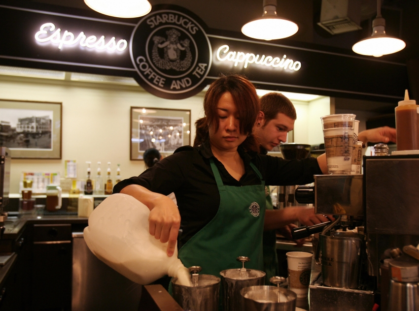California Says Starbucks Has to Stop Stealing Its Workers