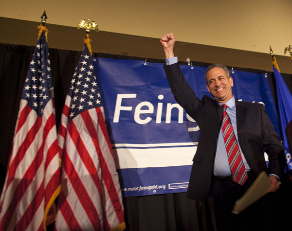 Russ Feingold, gone but not forgotten