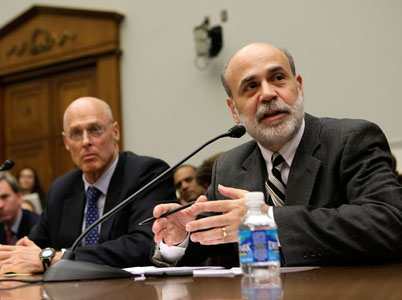 Henry Paulson and Ben Bernanke