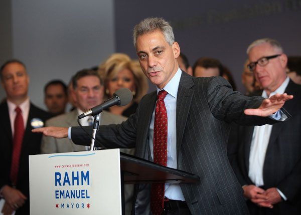 Rahm Emanuel plays it safe