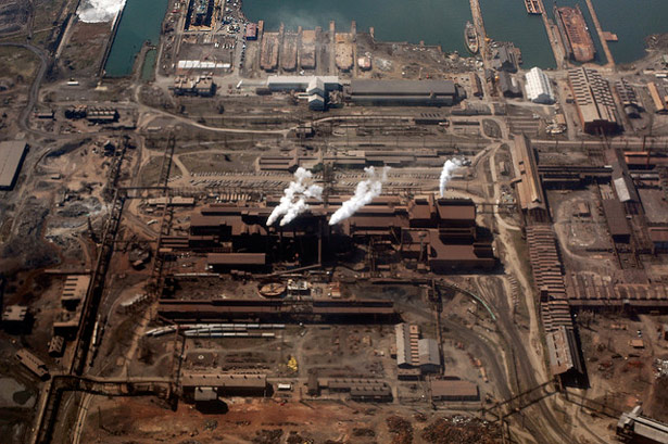 R G Steel Sparrows Point From Steel Mill...