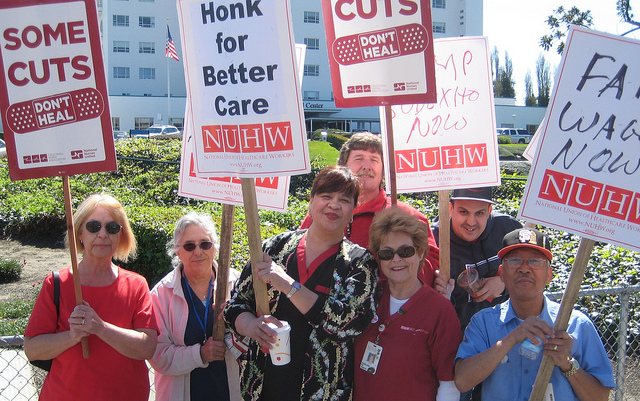 2,600 California Mental Health Care Workers On Strike