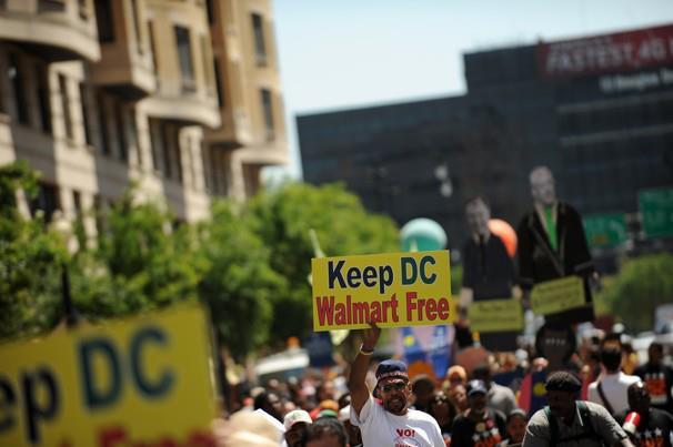 3491fa8d990eb Labor and Living Wage Advocates Thwart Wal-Mart in D.C.