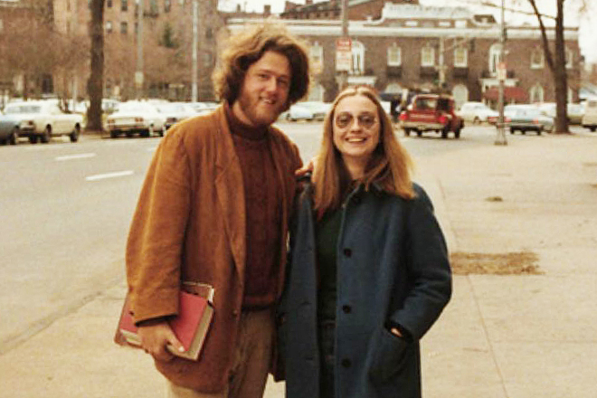 On Bill And Hillary Clinton's First Date In 1971, They