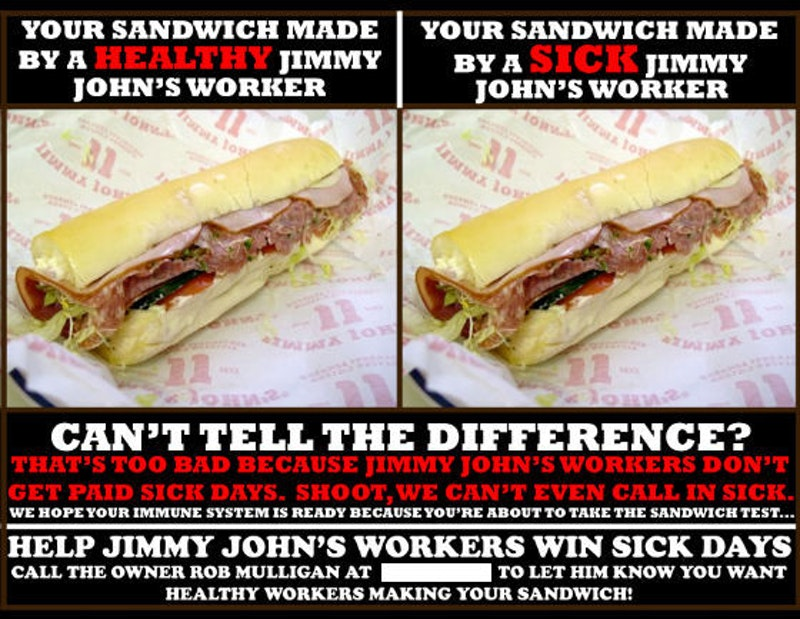 Jimmy Johns Fired Workers For Making A Disloyal Meme A Court